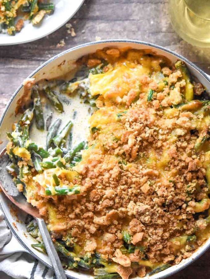 Low Carb Green Bean Casserole (Easyyy!!)