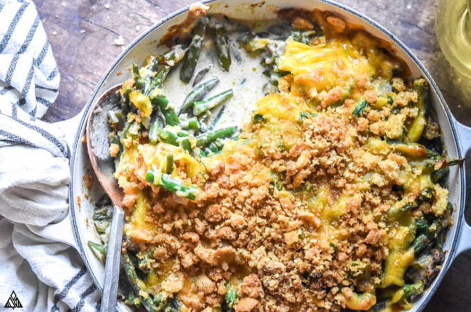 One of the best low carb casseroles is low carb green bean casserole