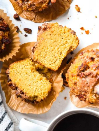 One of the low carb pumpkin recipes is low carb pumpkin muffins