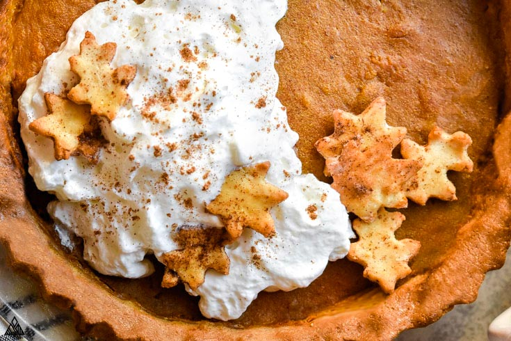 One of the low carb pumpkin recipes is low carb pumpkin pie