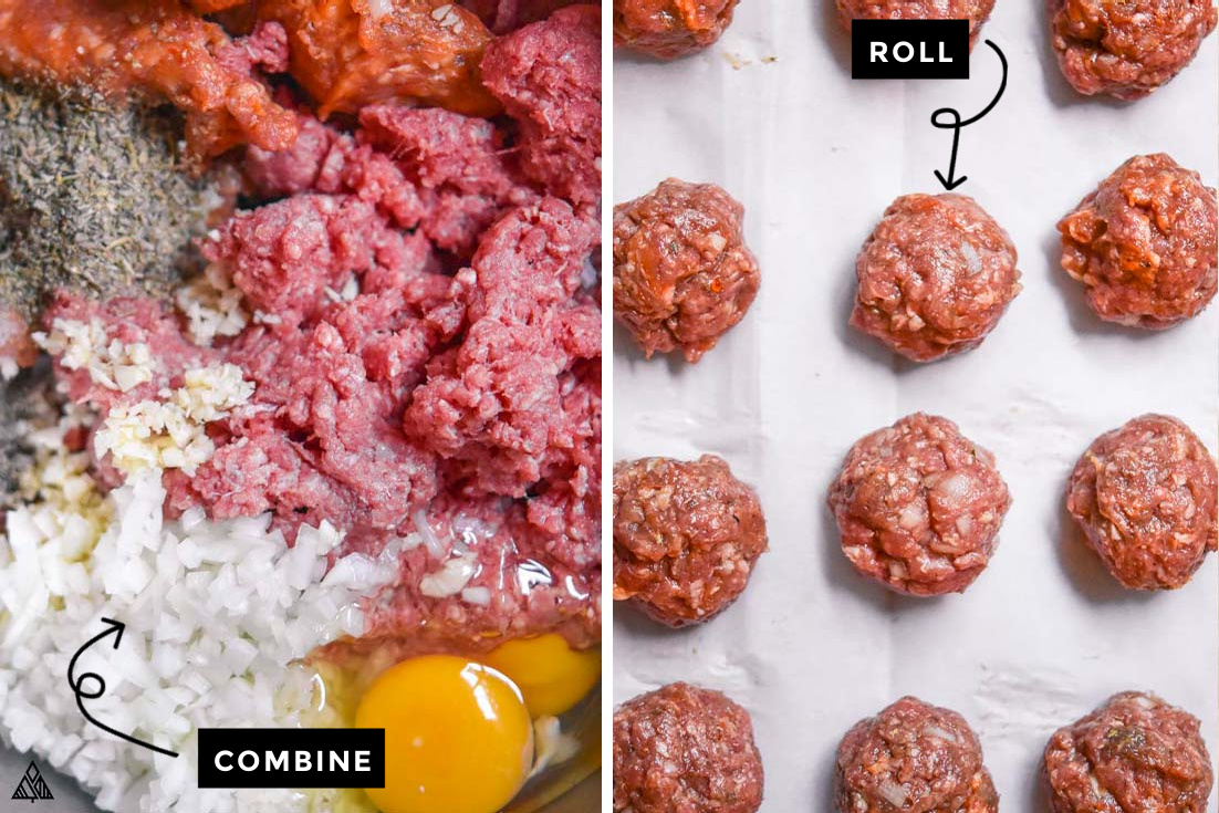 how to make low carb meatballs