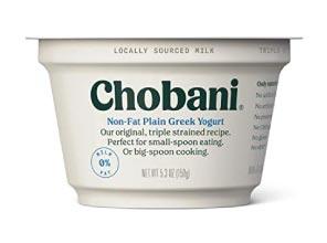 low carb greek yogurt, chobani
