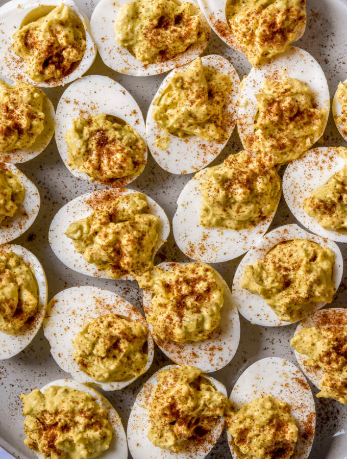 Classic Deviled Eggs (Low Carb + Paleo!)