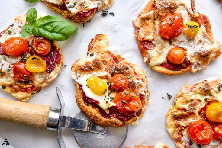 One of the best low carb pizza recipes is cloud bread pizza