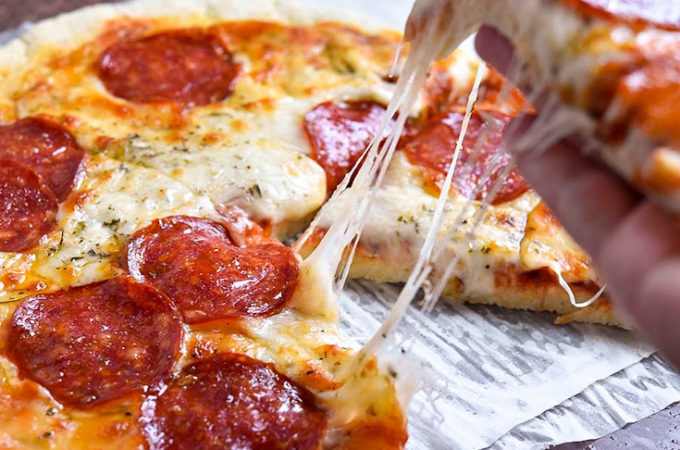One of the best low carb pizza recipes is coconut flour pizza crust