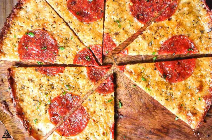 One of the best low carb pizza recipes is crustless pizza