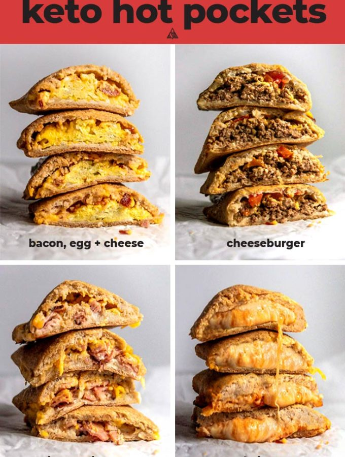 Keto Hot Pockets (1g Net Carb!)