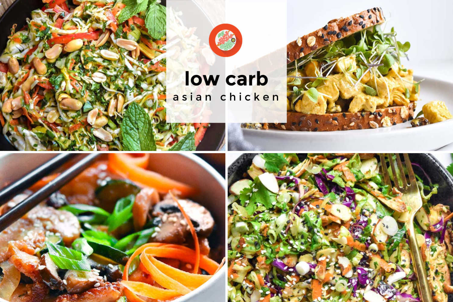Low carb asian chicken