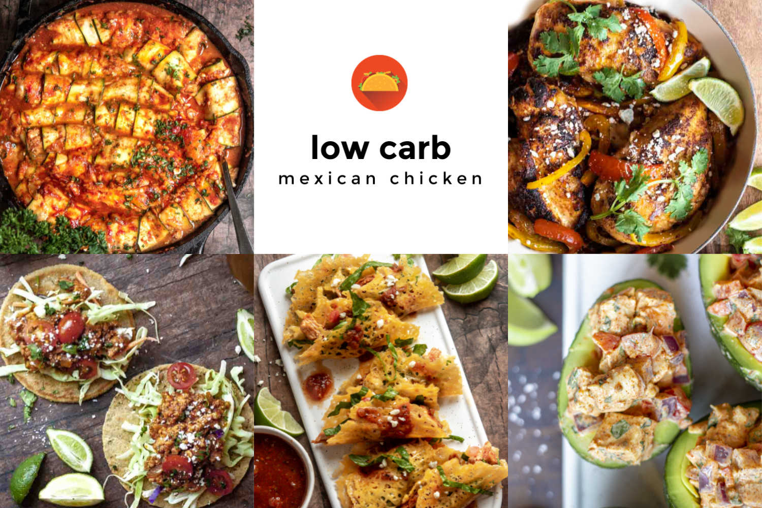 Low carb mexican chicken