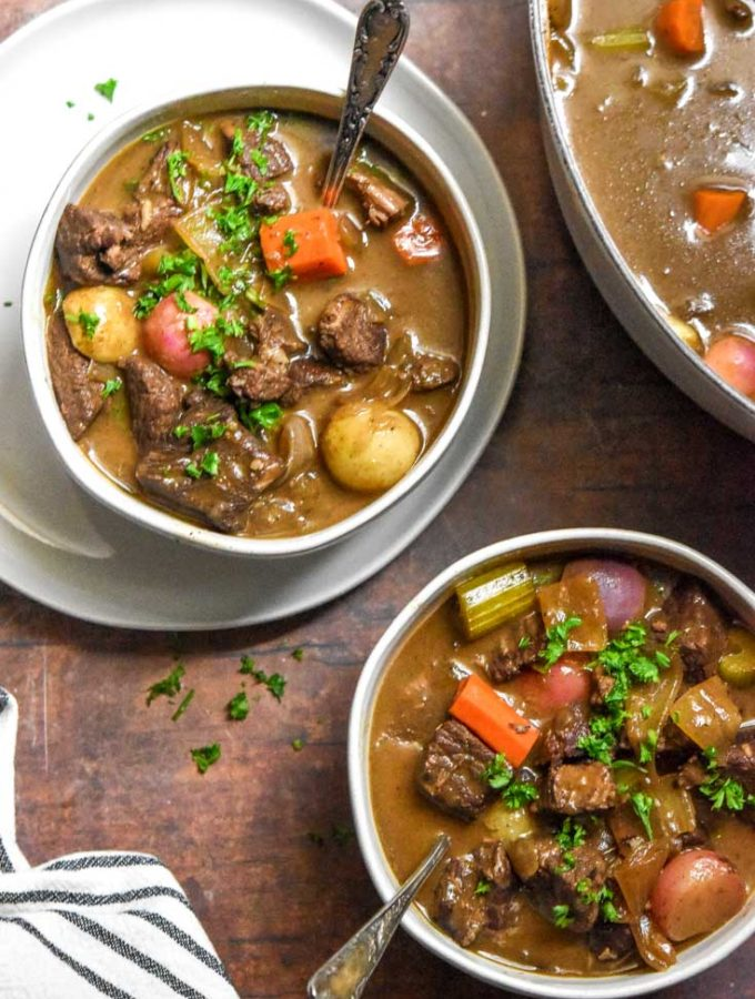 Low Carb Beef Stew (Keto + Easy!)