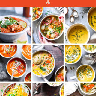 *NEW* My low carb soups use a lot of spices and vegetables to keep them complex and nutritious, but you'll be blown away by how mouth-watering these healthy recipes really are. #ketosoup #lowcarbsoup