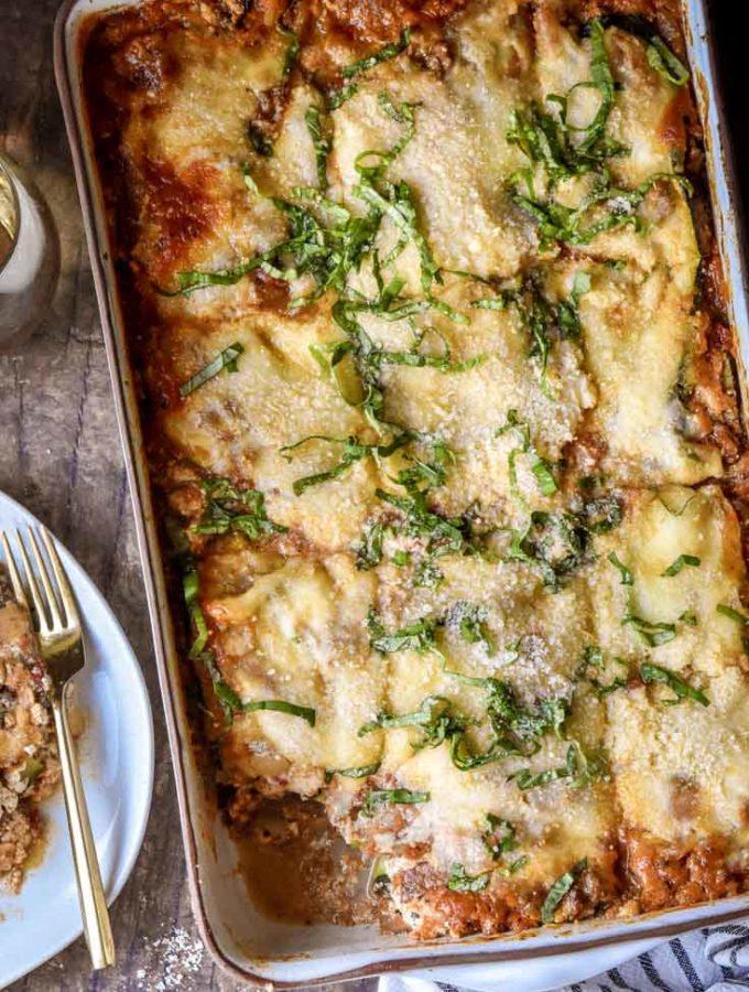 Zucchini Lasagna (Low Carb + Keto!)