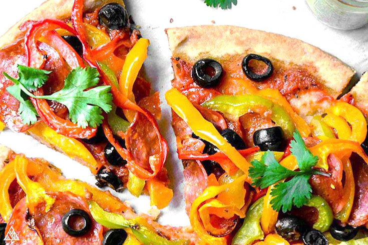 One of the best low carb pizza recipes is almond flour pizza crust