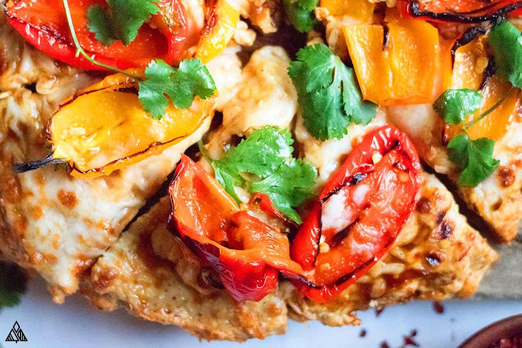 One of the best low carb pizza recipes is chicken crust pizza