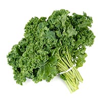 low carb vegetables, kale
