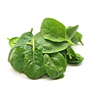 low carb vegetables, spinach