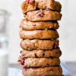 Stack of breakfast cookies