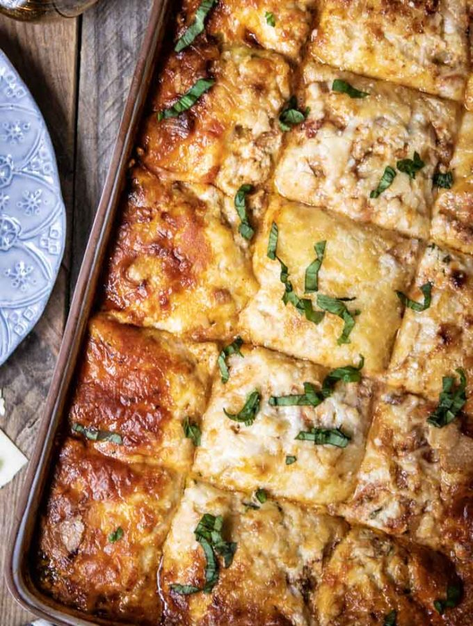 Cabbage Lasagna (Low Carb + Keto!)