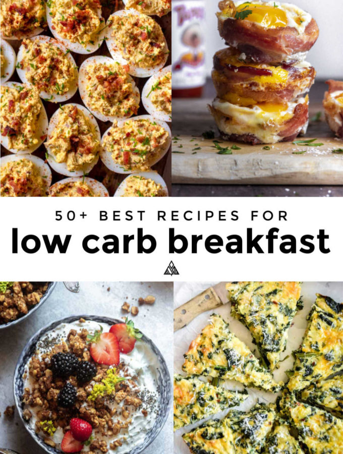 55 Best Low Carb Breakfast Recipes!