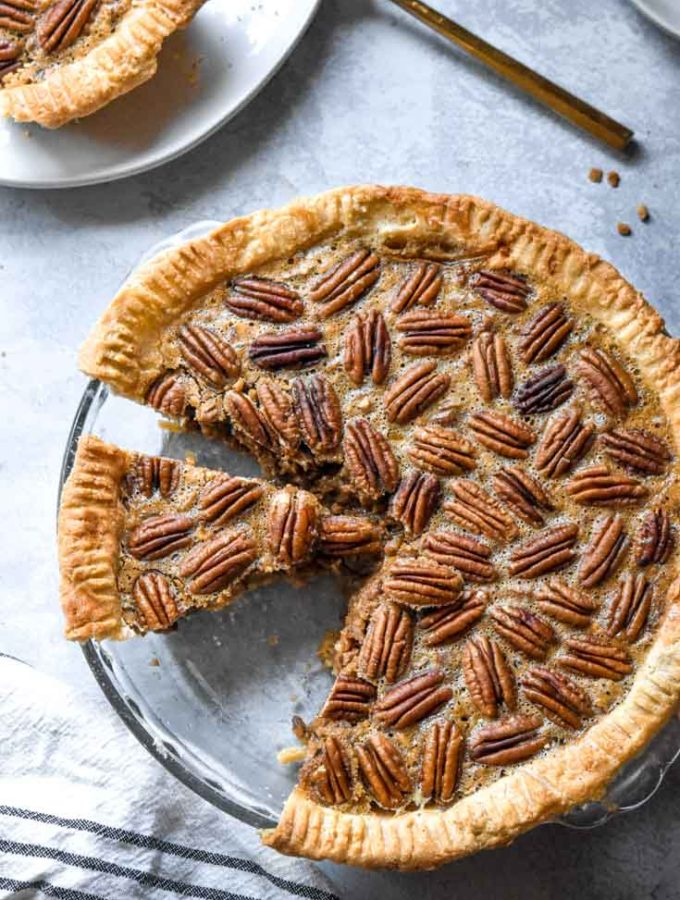Low Carb Pecan Pie (Easy + Keto!)