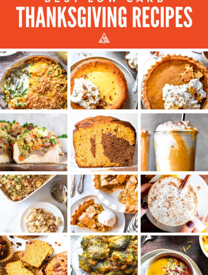 17 Best Low Carb Thanksgiving Recipes!