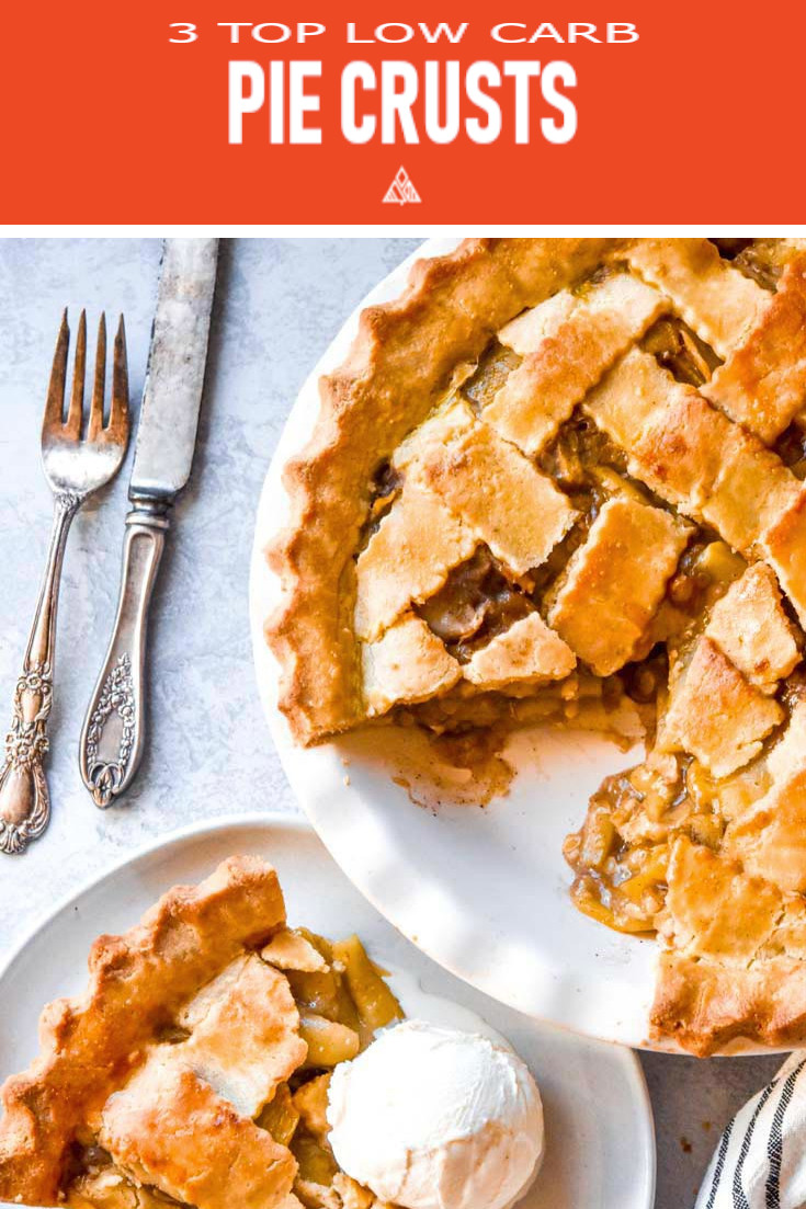 *NEW* With these delectable low carb pie crust recipes, us low carb-ers don't have to miss a tasty beat! From pies to quiches, these recipes have got you covered! #lowcarbpiecrust #ketopiecrust