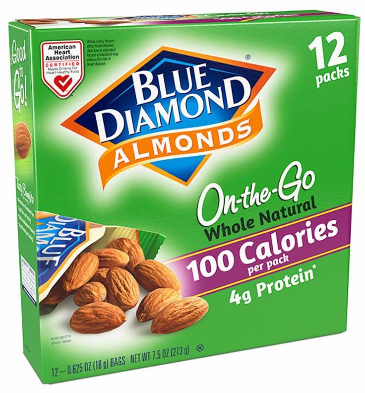 high protein low carb snacks, blue diamond almonds