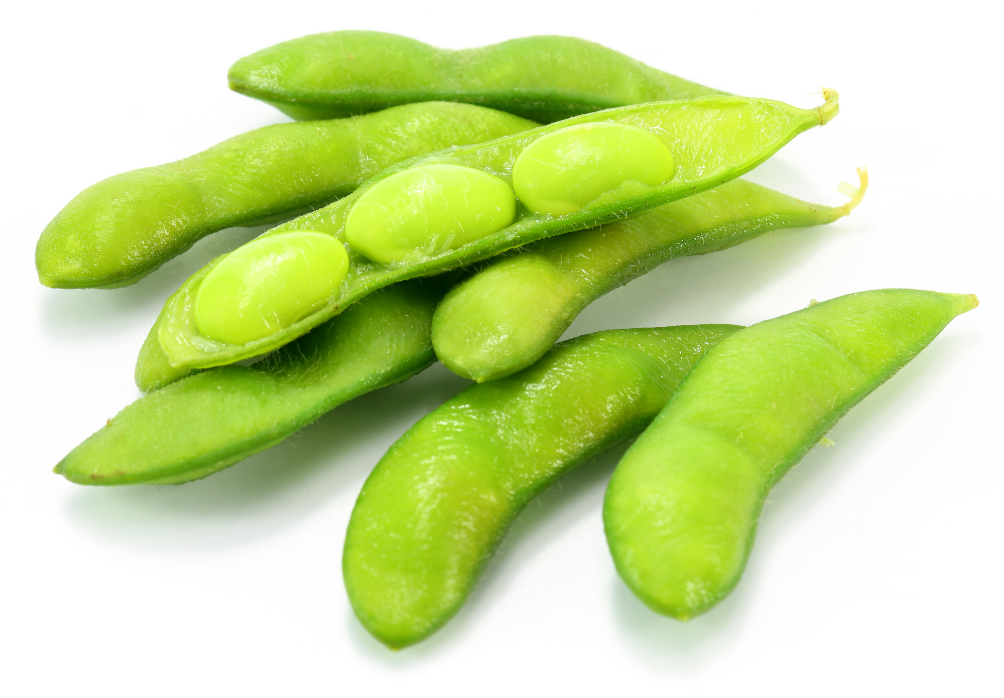 high protein low carb snacks, edamame