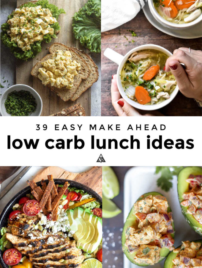 22 Low Carb Lunch Ideas (Easy Make Ahead!)