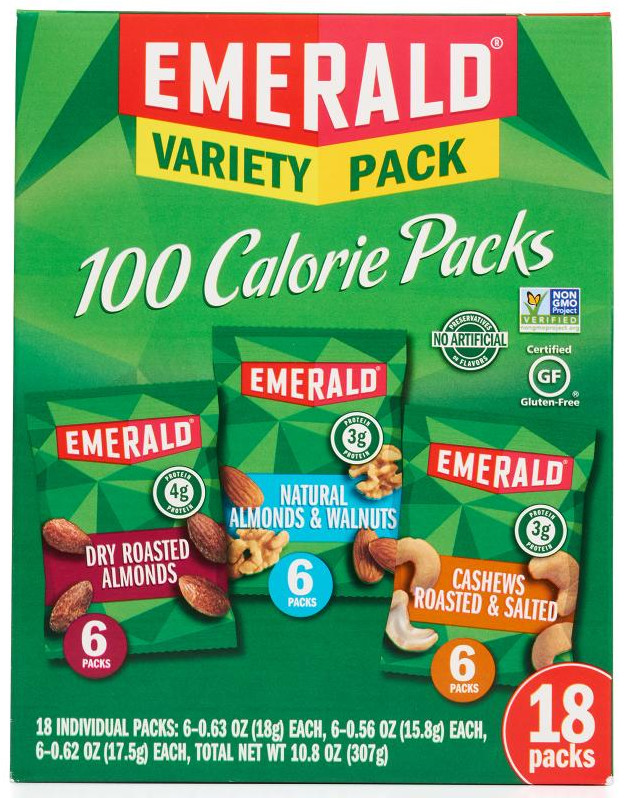 low carb snacks on the go, emerald