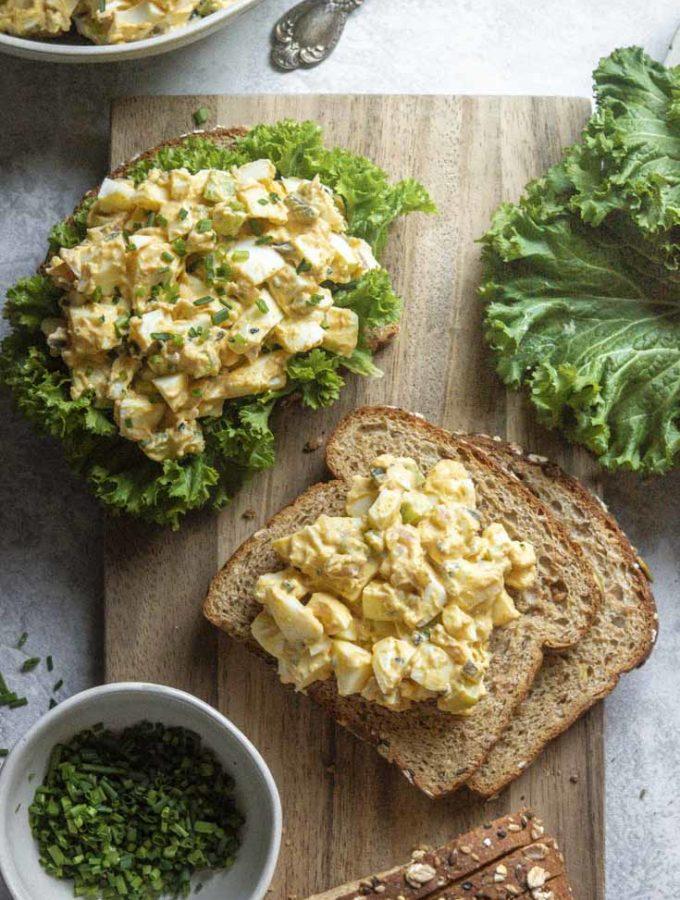 Classic Egg Salad Recipe (Keto + Low Carb!)