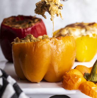 Stuffed Peppers Without Rice (Keto + Low Carb!)