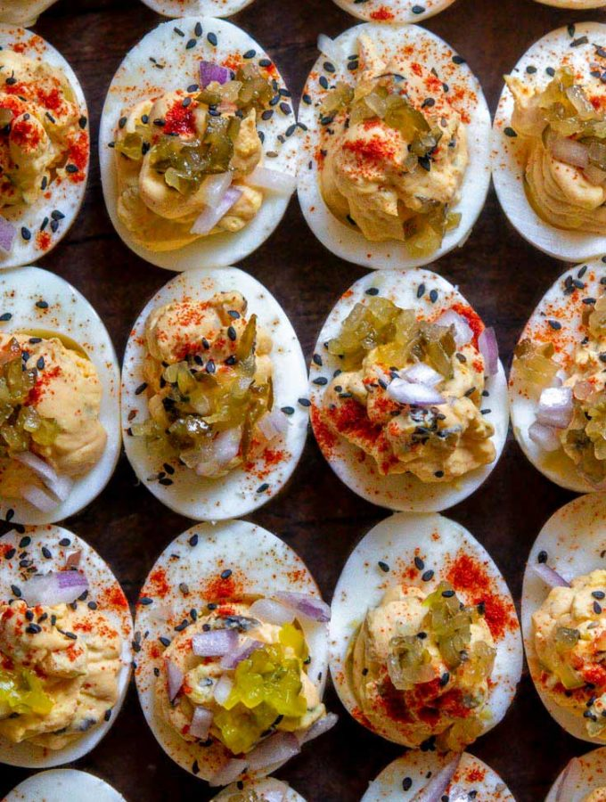 Deviled Eggs With Relish (SO Easy!)