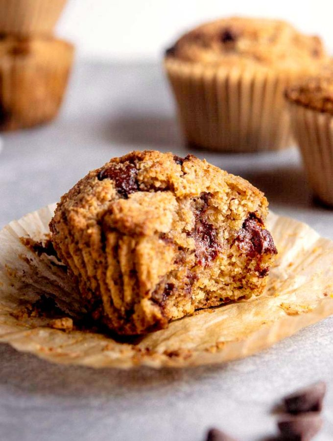 Low Carb Banana Muffins (15 Minutes!)