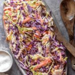 Low Carb Coleslaw (3g Net Carbs!)