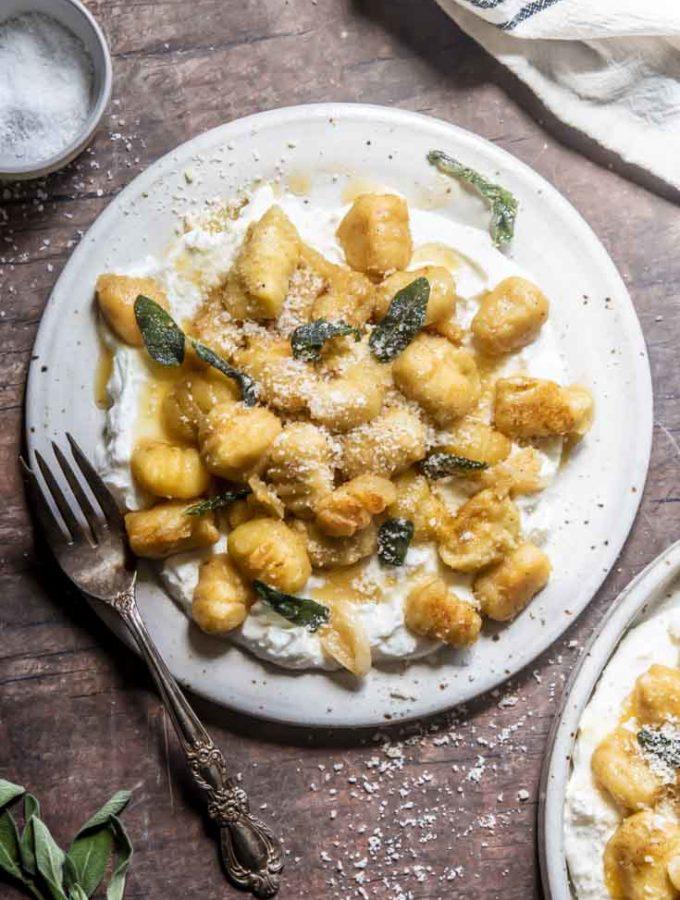 Low Carb Gnocchi (4 Ingredients!)