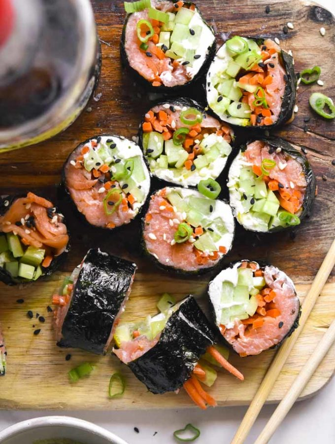 Low Carb Sushi (Keto + Easy!)