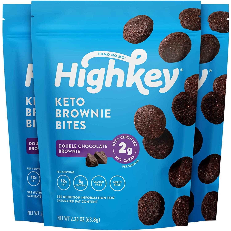 low carb snacks on amazon, brownie bites