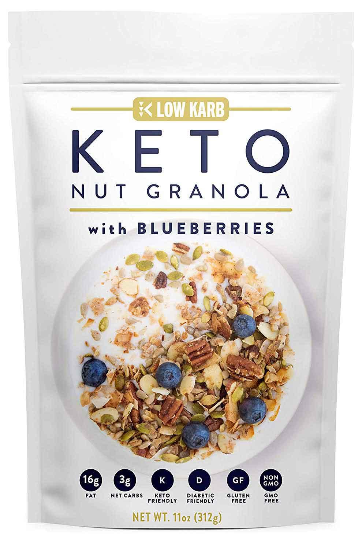 low carb snacks on amazon, granola
