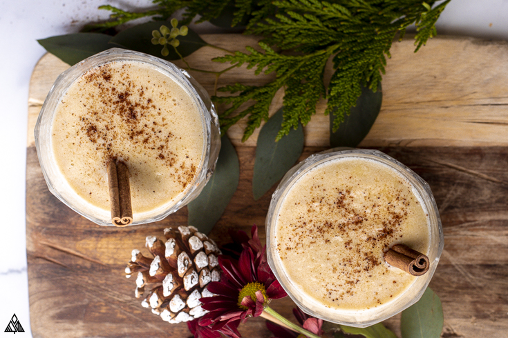 One of the best low carb cocktails recipe is keto eggnog
