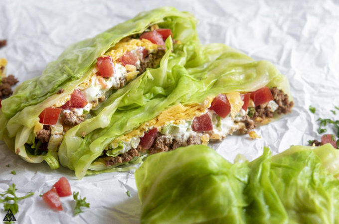 Side view of low carb crucnhwrap supreme