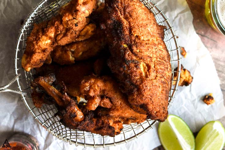 how to make low carb fried chicken baked