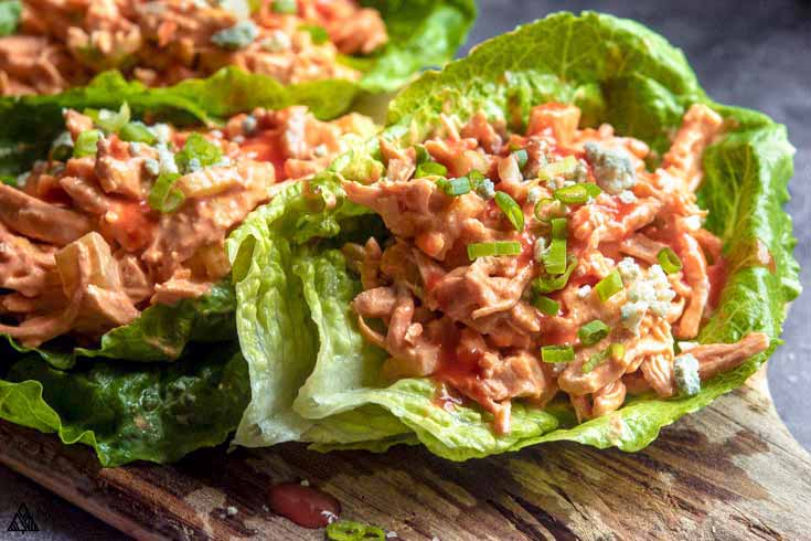 how to make buffalo chicken salad