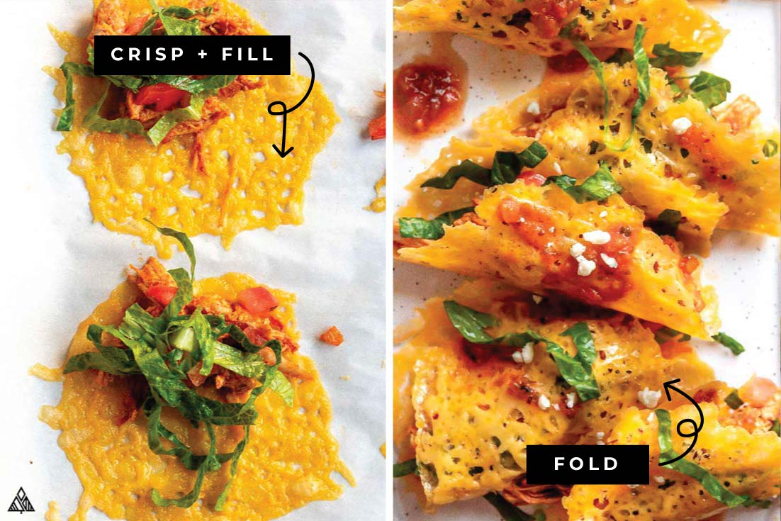 how to make low carb crispy chicken tacos
