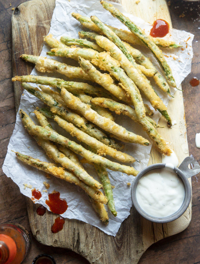 Low Carb Fried Green Beans (4g Net Carbs!)