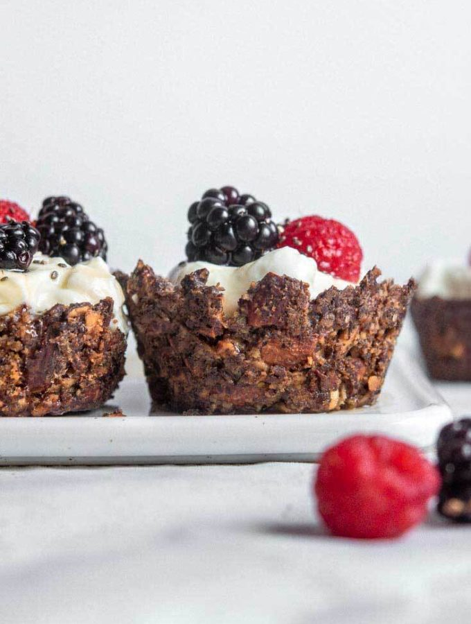 Low Carb Granola Cups (Keto + Easy!)