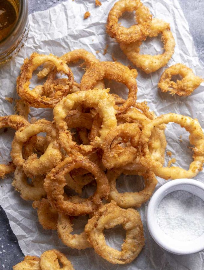 Low Carb Onion Rings (Keto + Easy!)