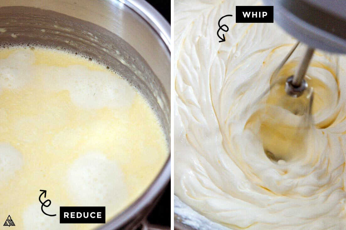 Process of making low carb vanilla ice cream