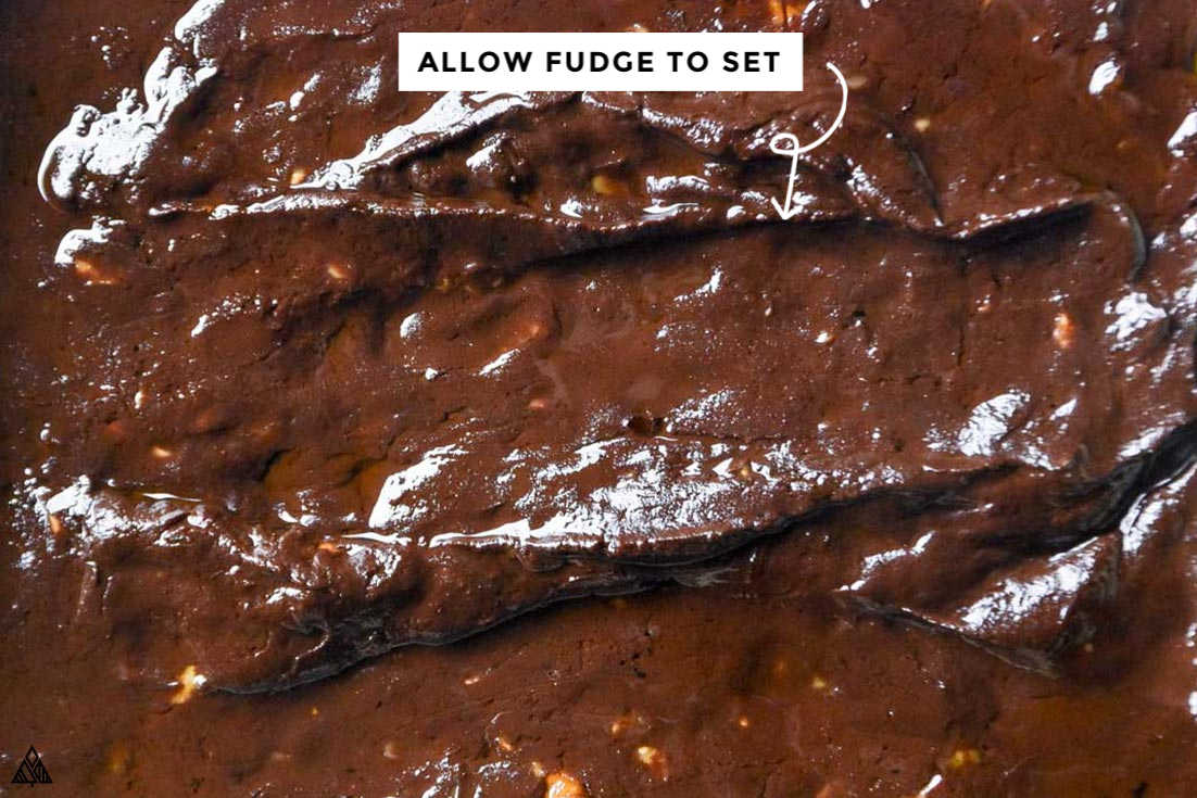 how to make low carb fudge in a pan