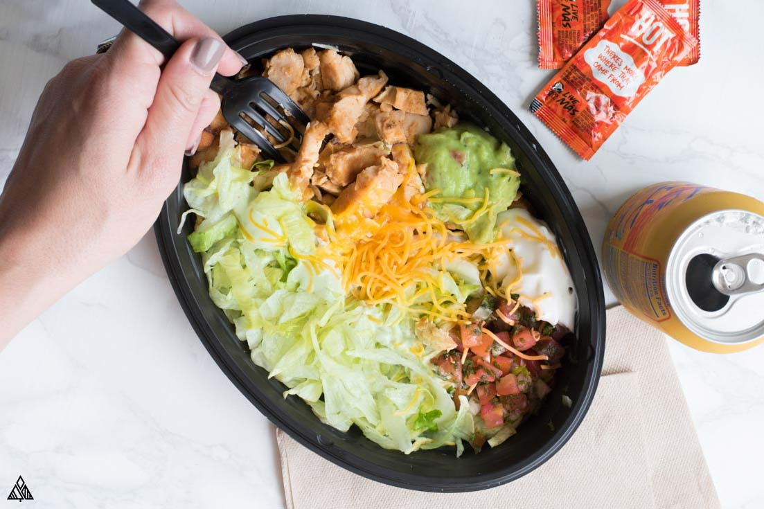keto taco bell power bowl